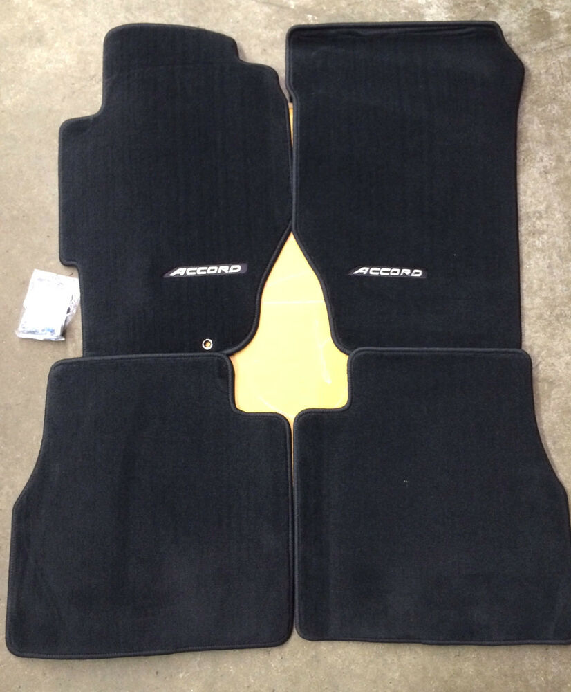 Genuine Oem Honda Accord 4dr Sedan Black Carpet Floor Mat