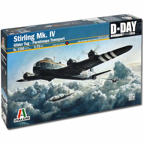 ITALERI Short Stirling Mk.IV Glider Tug 1350 1:72 Aircraft