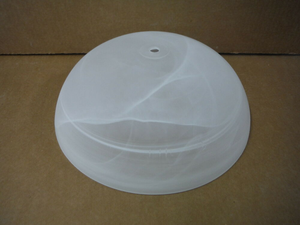 Glass Lamp Shade Light Shade White Marble Swirl Ceiling
