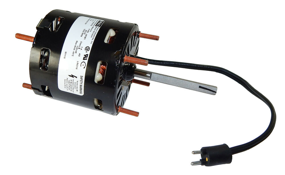 1 20 hp 1550 rpm cw 3 3 diameter 115 volts refrigeration for 1 20 hp electric motor