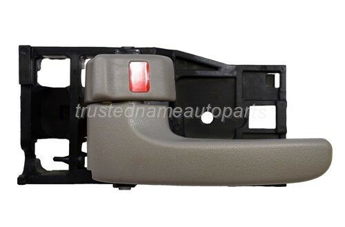 fits Toyota Inside Interior Door Handle Front Rear Left Driver Side Gray