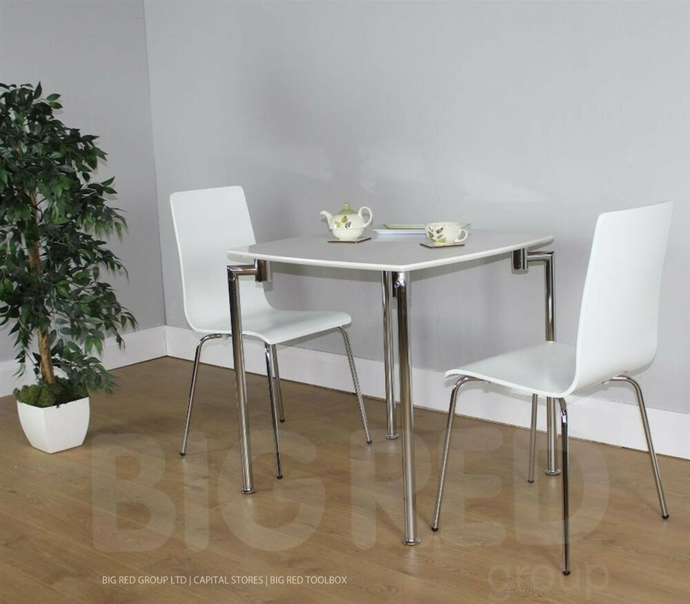 Fiji Small Dining Set Table amp 2 Chairs White High  : s l1000 from www.ebay.co.uk size 1000 x 876 jpeg 76kB