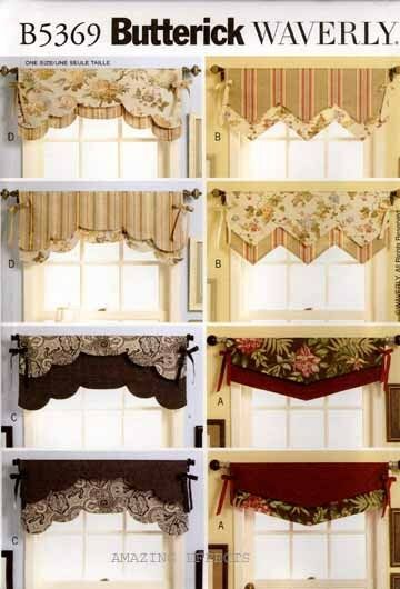 Image Result For Butterick Curtain Patterns
