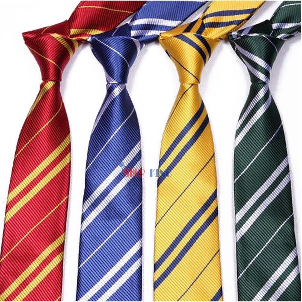 harry potter tie hogwarts house necktie costume