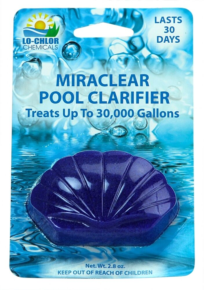 lo chlor miraclear clarifier for swimming pools up to 15 000 gallons ebay. Black Bedroom Furniture Sets. Home Design Ideas