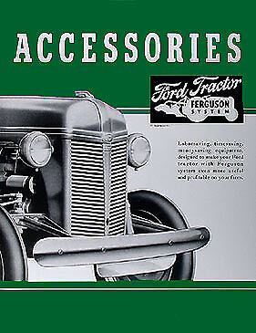 ford   accessory brochure set tractor accys