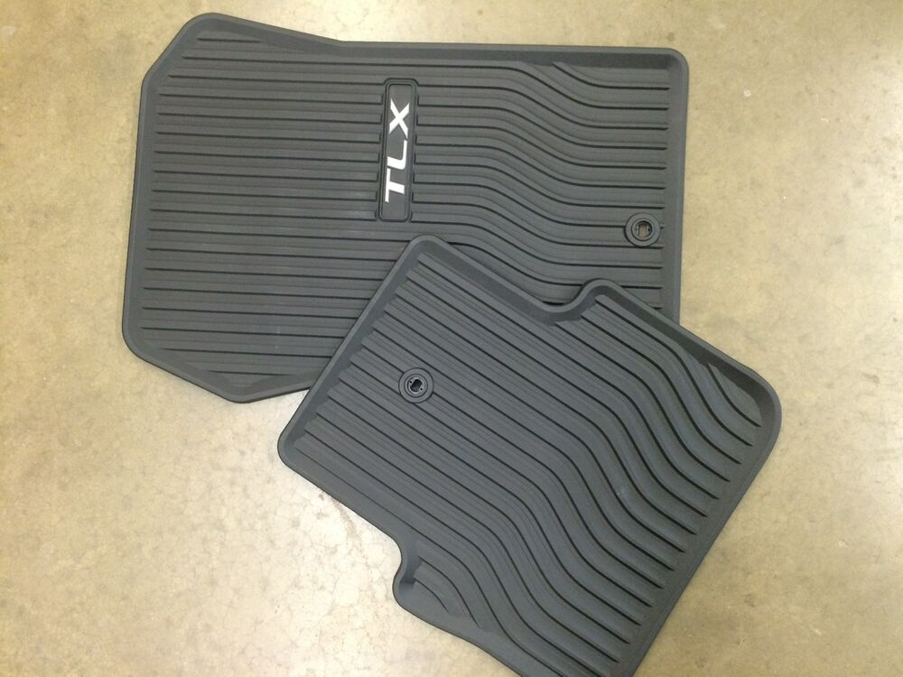 Genuine Oem 2015 2017 Acura Tlx 2wd Only Rubber All