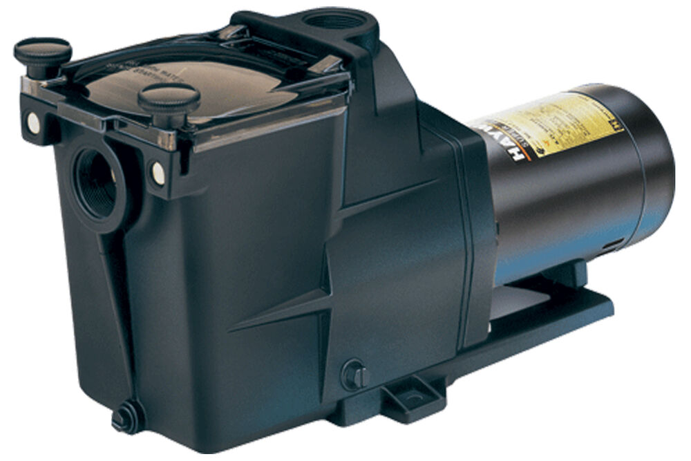 Hayward 1 hp super pump sp2607x102s dual speed in ground for Hayward 1 1 2 hp pool pump motor