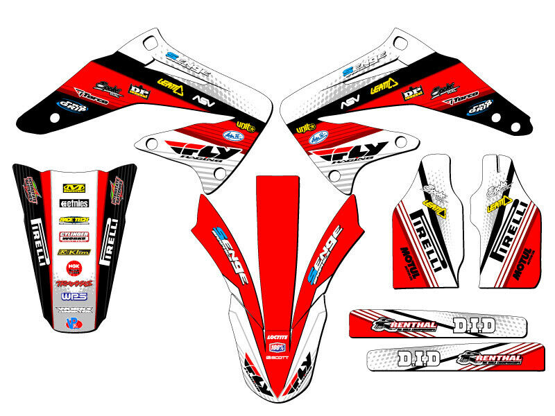 2002 2003 2004 crf 450r graphics kit crf450r 450 r deco decals stickers ebay