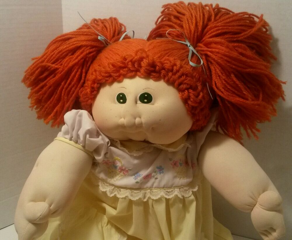 cabbage patch dolls red hair eBay