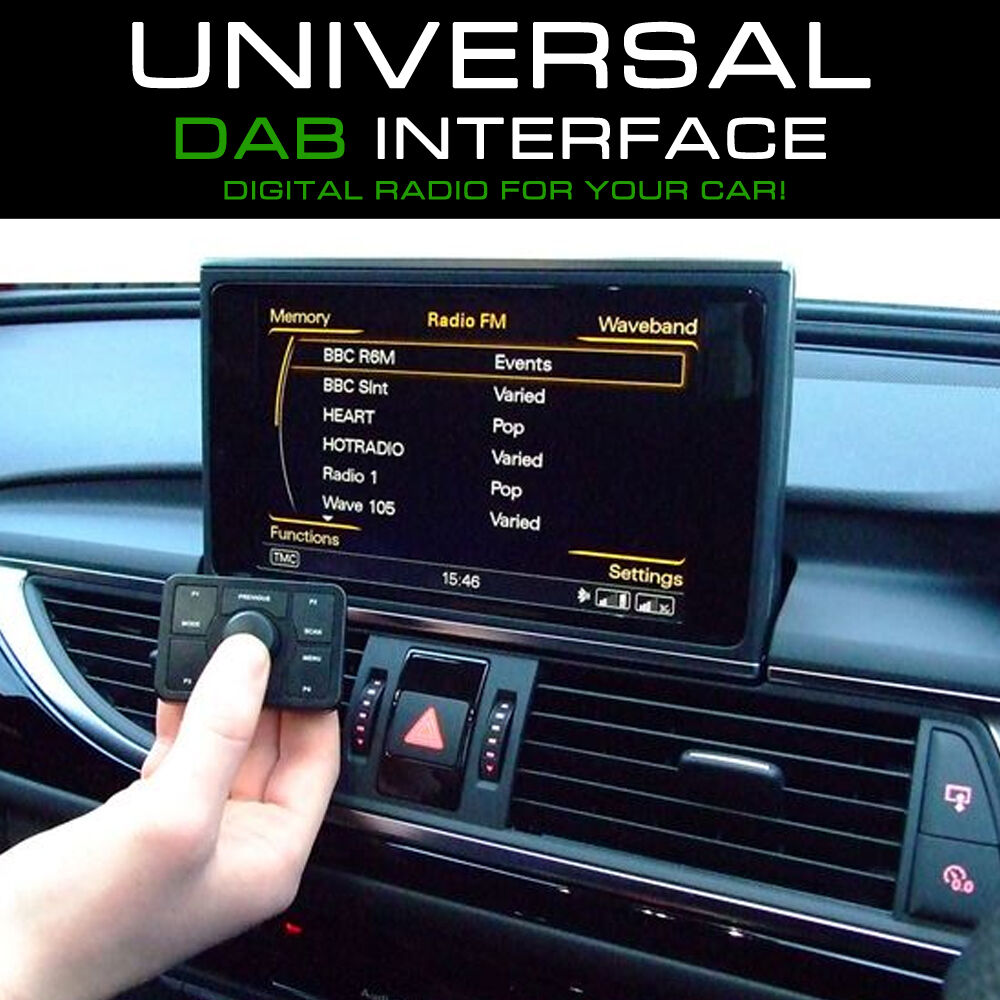 dab universal wireless in car digital radio tuner. Black Bedroom Furniture Sets. Home Design Ideas