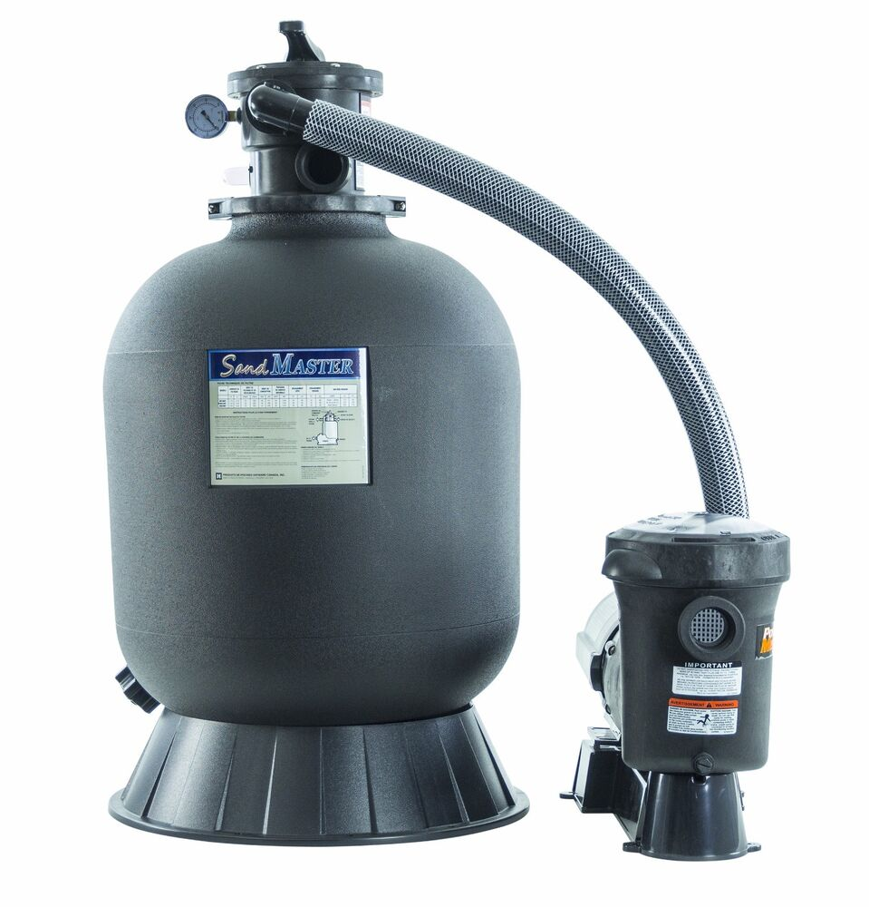 Hayward sandmaster s210t above ground swimming pool filter system w 1 5 hp ebay - Sandfilterpumpe fur pool ...