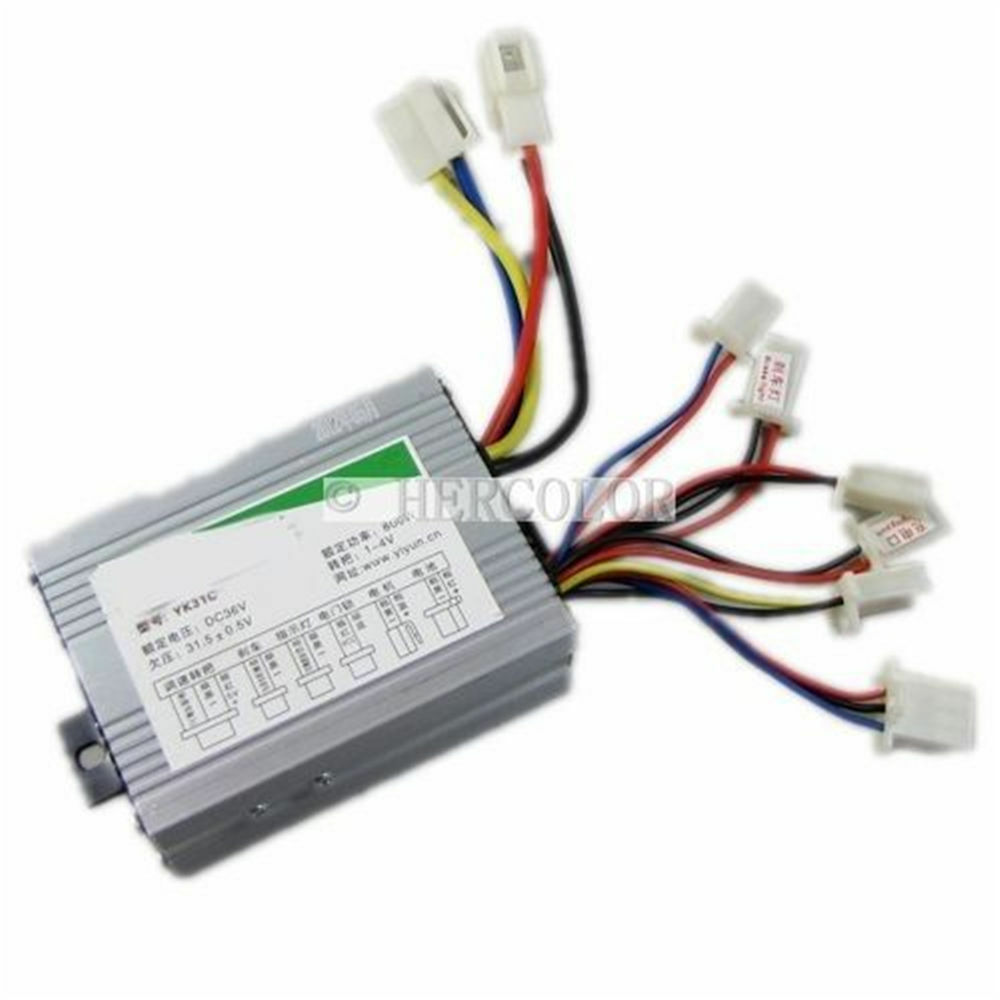 36v 500w motor brush controller for electric bicycle for Ev ac motor controller