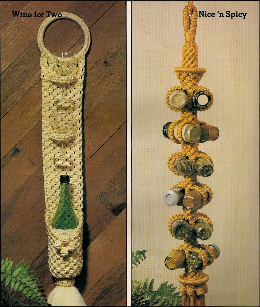 Hanging Wine & Spice Rack Patterns