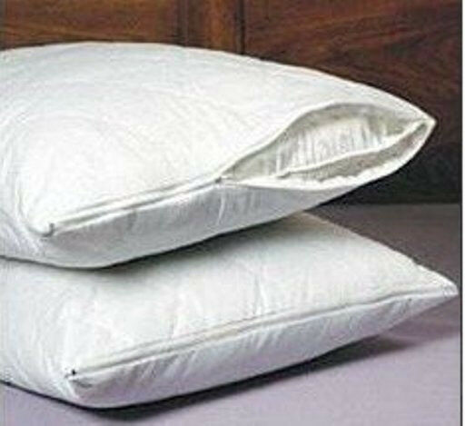 SET OF 2 NEW QUILTED PILLOW COVERS WITH ZIPPERS eBay