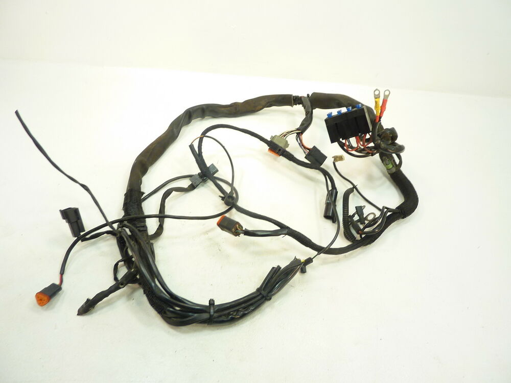 02 harley sportster xlh 1200 main wire harness / wiring ... snow dog hd wiring harness snow plow light wiring harness