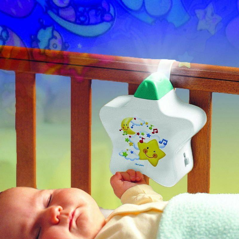 Tomy Baby Musical Starlight Dreamshow Light Show Cot