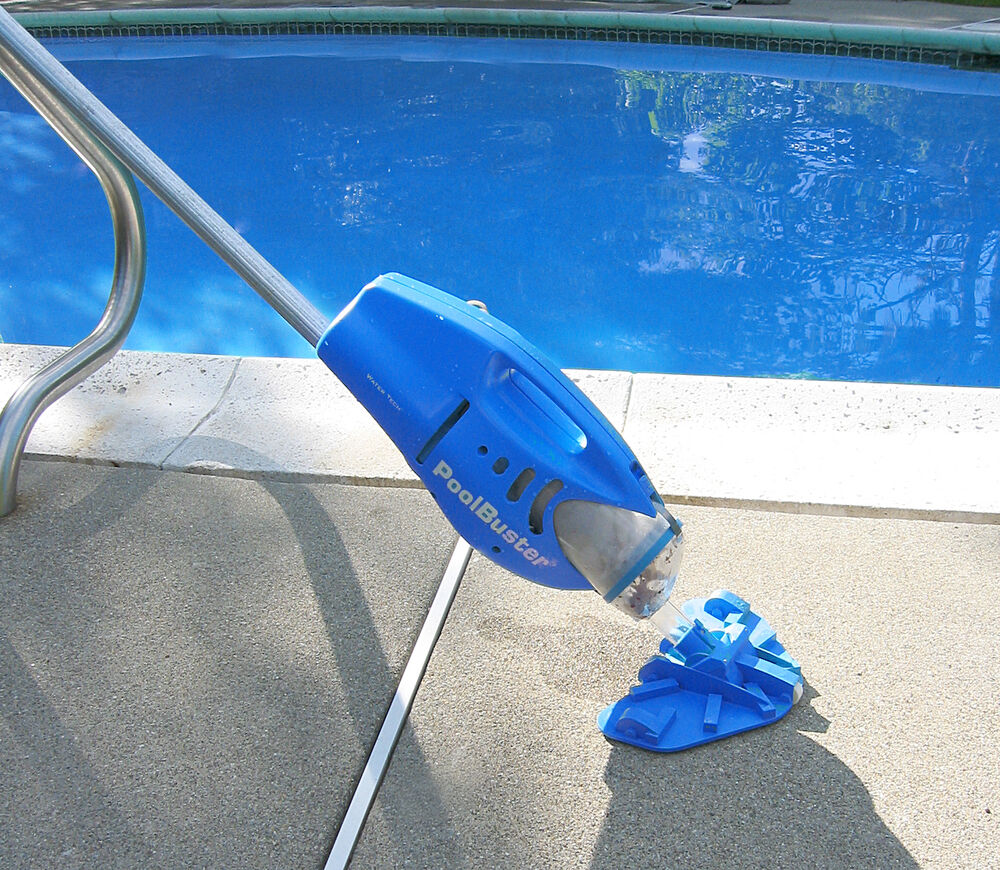 Water Tech Pool Blaster Max Swimming Pool Handheld Battery