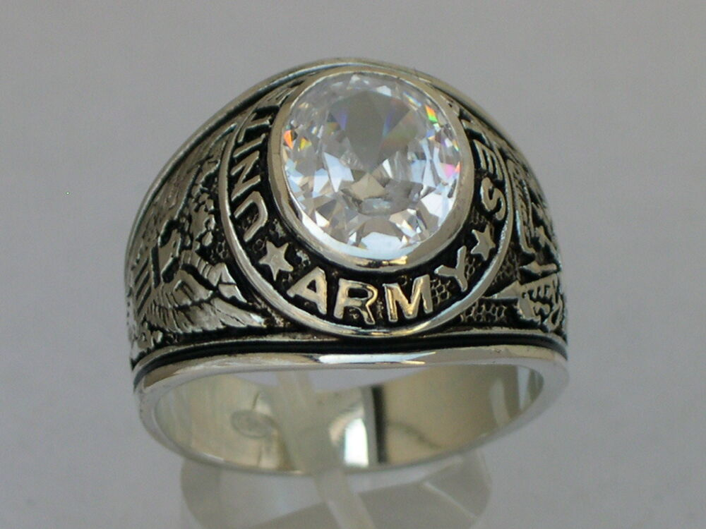 United States Army Silver Ring