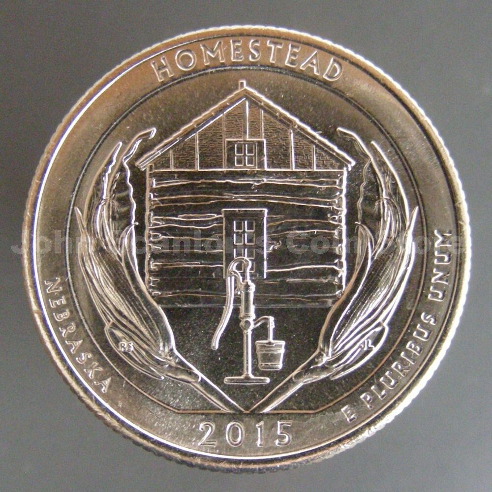 2015-D Homestead National Monument Quarter- Choice BU | eBay