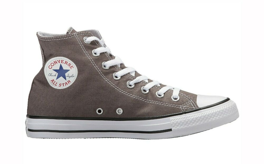 01d06c084f55 Details about Converse Chuck Taylor All Star High Top Canvas Men Shoes  1J793 - Gray White