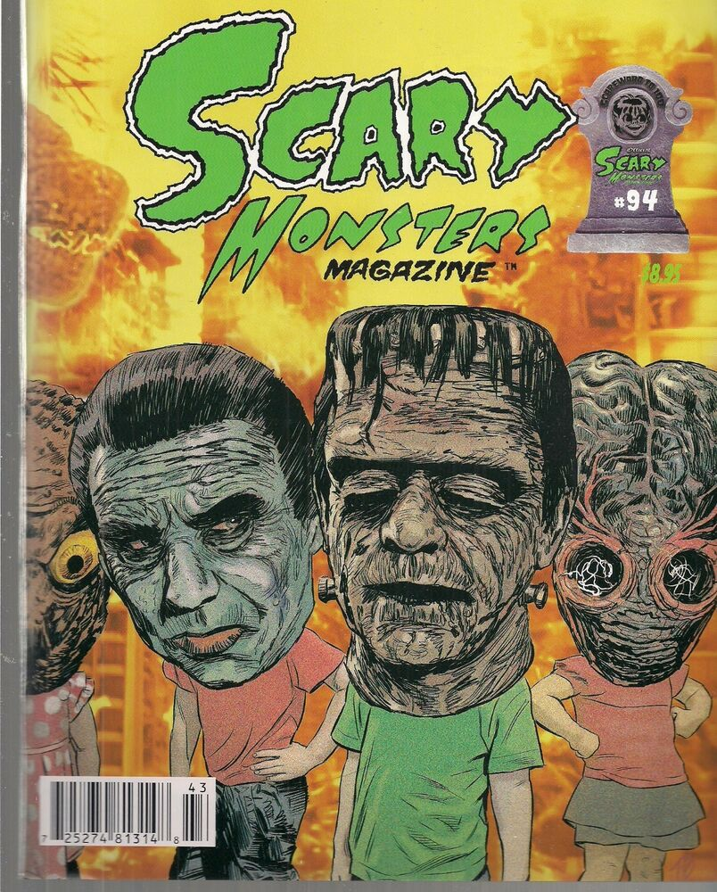 SCARY MONSTERS MAGAZINE #94 (NM) GREAT UNIVERSAL MONSTERS