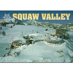 Squaw Valley High Camp California Skiing, Hosted 1960 Winter Olympics - Postcard