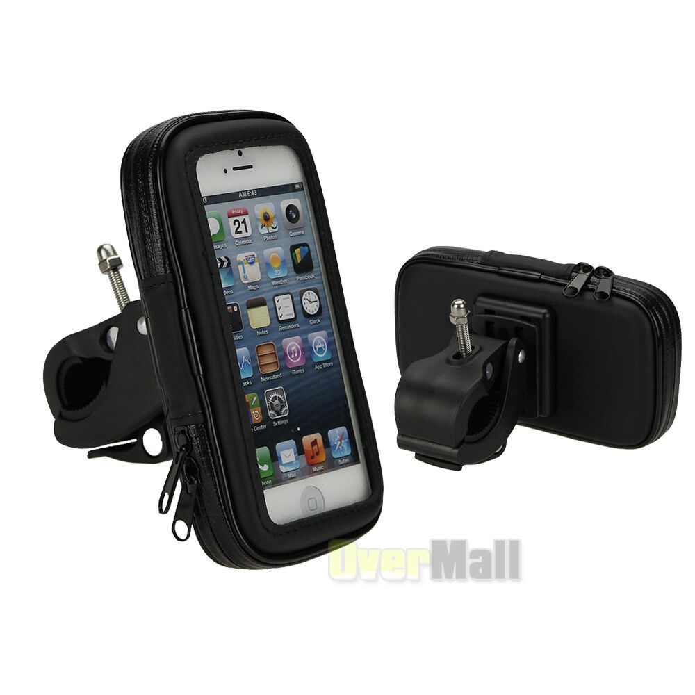 Case Design phone case bike mount : Waterproof Motorcycle Bike Bicycle Handlebar Mount Holder Case For ...