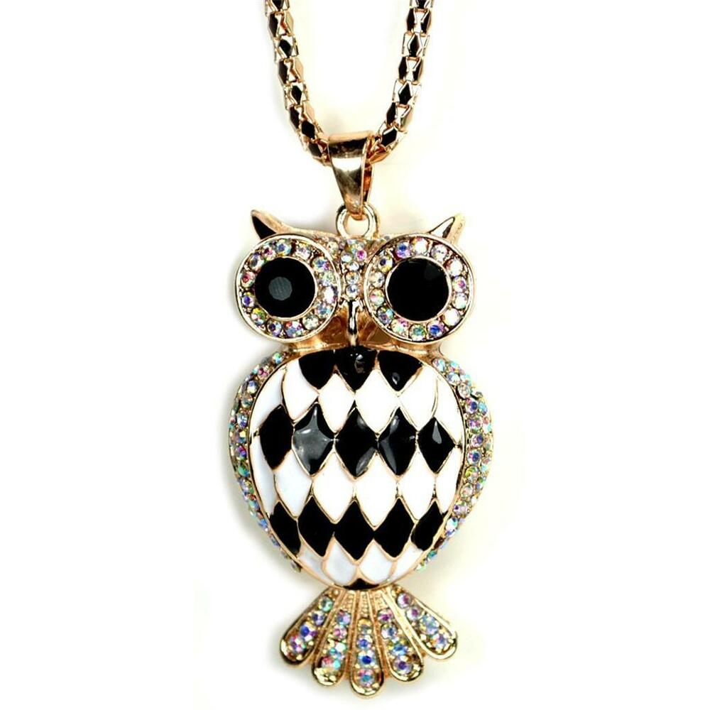 Harlequin Owl Necklace Sparkling Rhinestone Pendant New. Snowflake Pendant. Golden Mens Watches. Masculine Bracelet. Peridot Birthstone Necklace. Jump Ring Necklace. Mens Jewelry Chains. Oval Pendant. Design Gold Chains