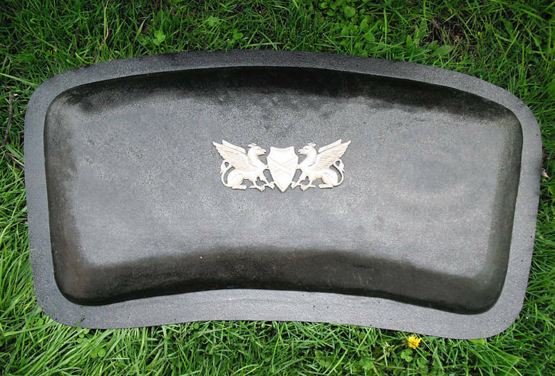 Heavy Duty Abs Plastic Griffin Concrete Bench Mold Mould Ebay