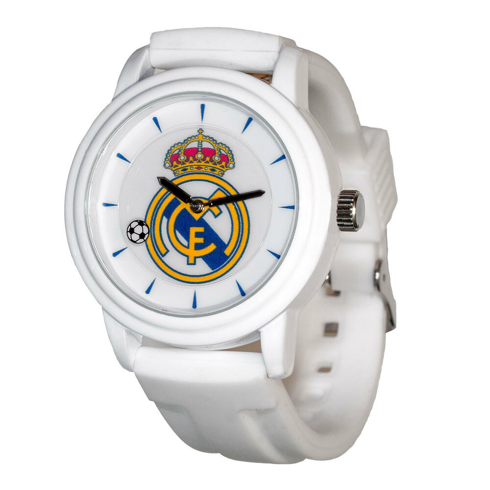 real madrid soccer club pro line souvenir watch ebay