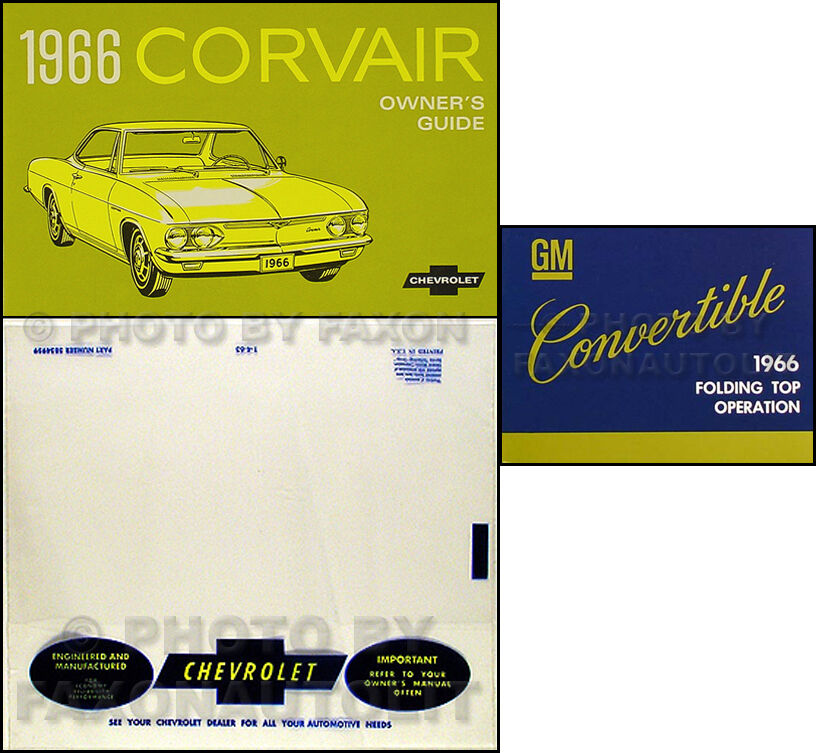 wiring diagrams corvair wiring diagram: 1966 chevy corvair convertible  owners manual set car guide