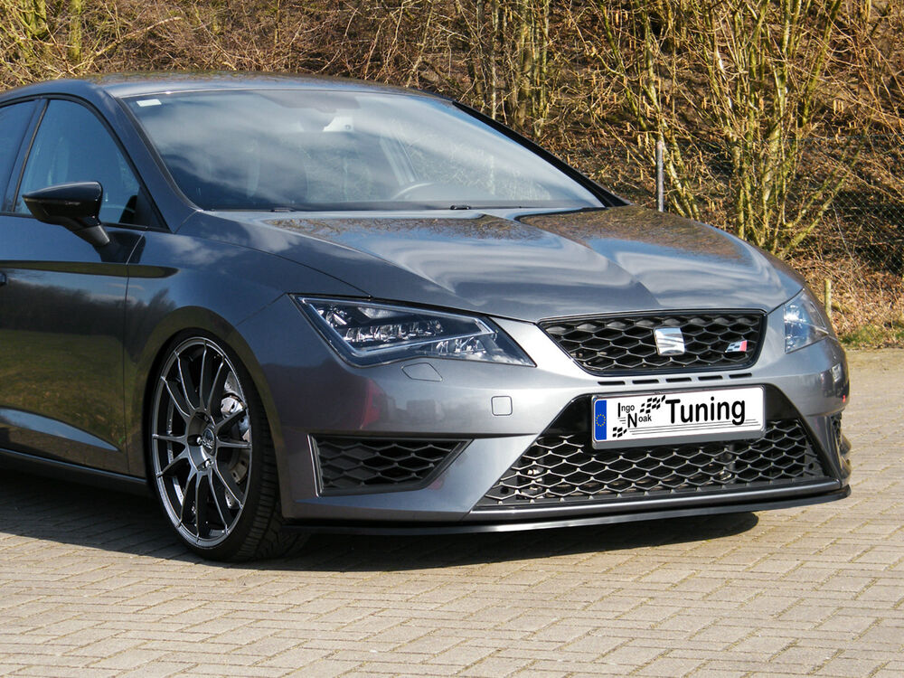 ingo noak spoilerschwert spoilerlippe abs seat leon 3 5f sc st cupra r fr ebay. Black Bedroom Furniture Sets. Home Design Ideas