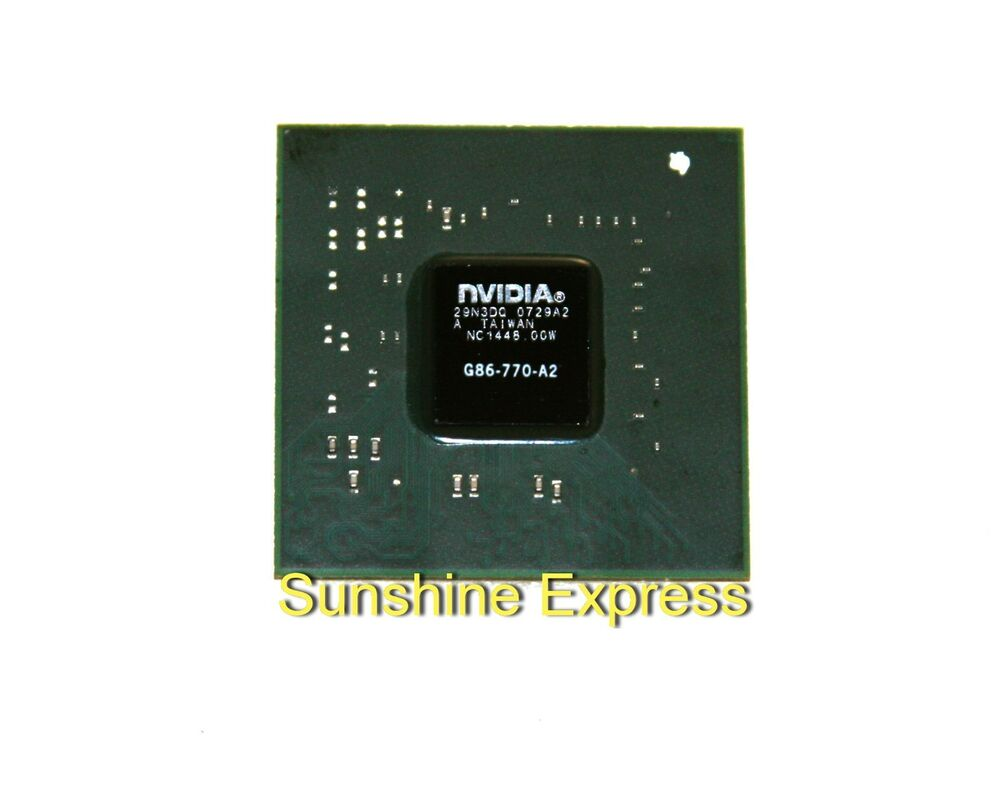 1pcs new nvidia g86-770-a2 ic graphics chipset w/ balls in business  industrial, electrical  test equipment