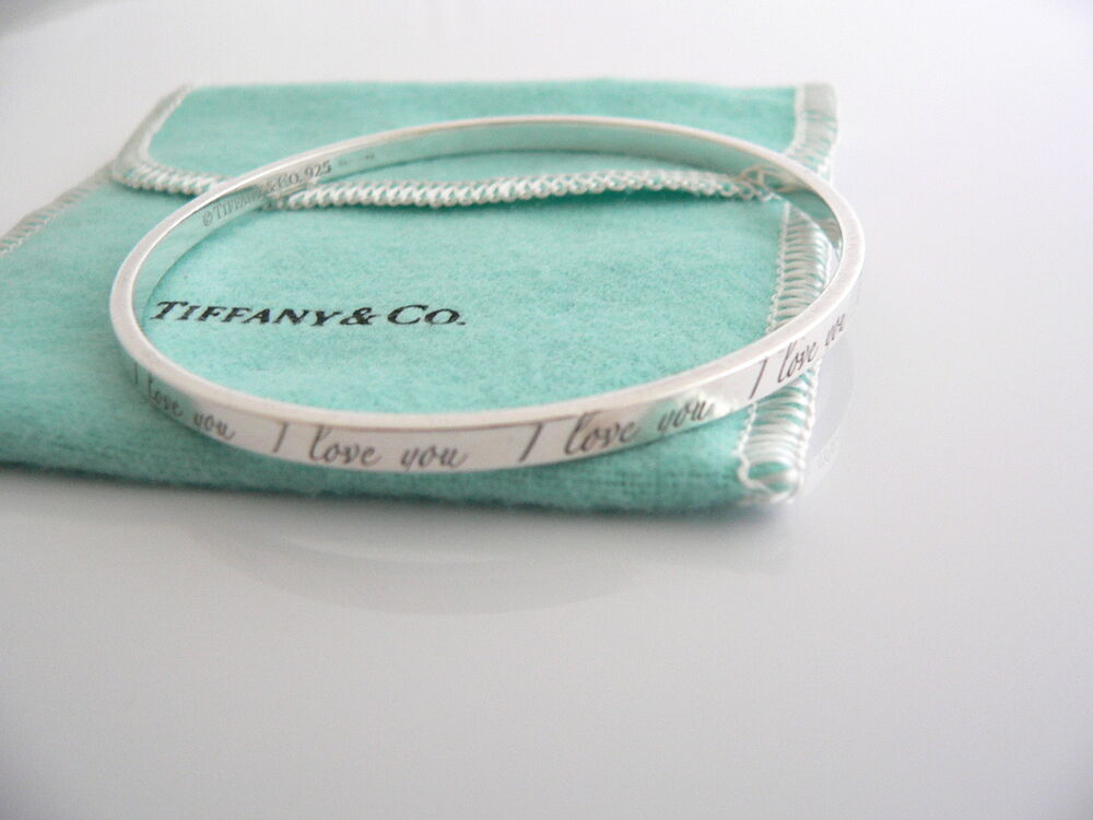 Tiffany Amp Co Sterling Silver I Love You Notes Bracelet