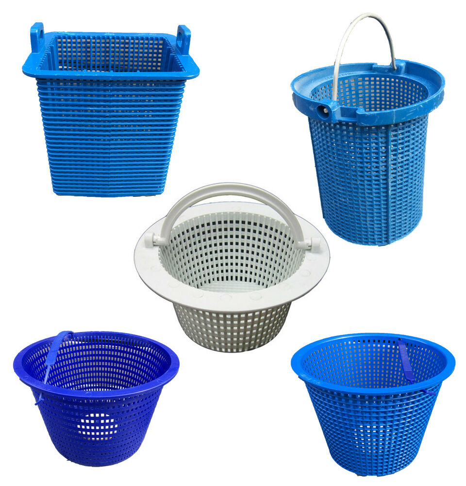 Swimming pool skimmer baskets above ground pool sta rite - Strainer basket for swimming pool ...