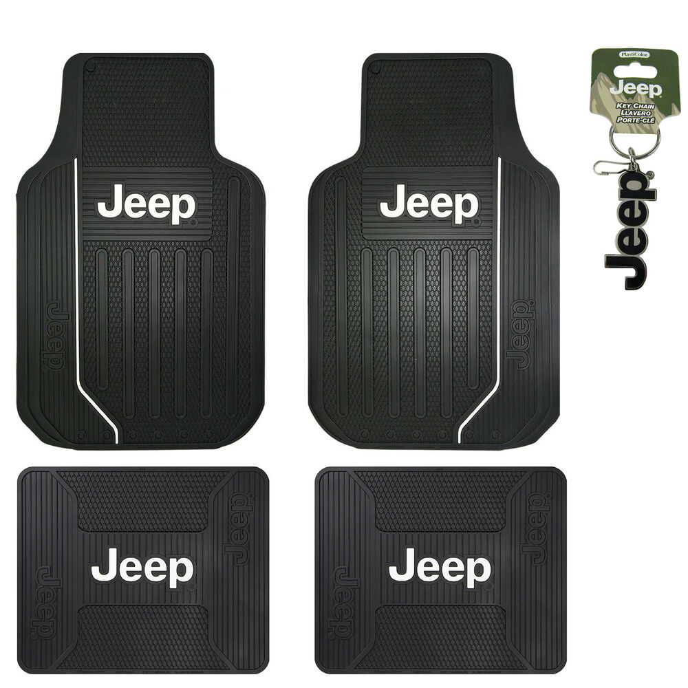 New Jeep Elite Series Logo Front Rear Back All Weather