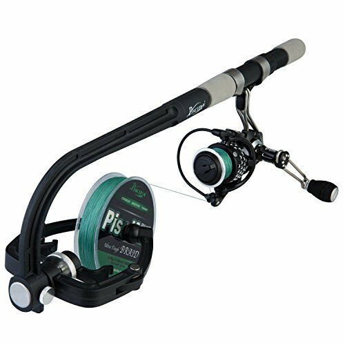 professional portable spooling station fishing reel line