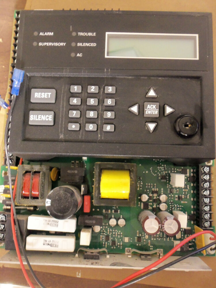 Silent Knight Fire Alarm Panel Subassembly Circuit Board