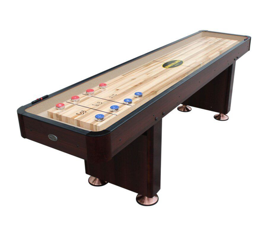 12 foot shuffleboard table the standard in espresso for 12 foot shuffle board table