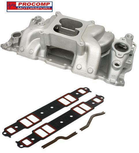 PC SATIN Air Gap Intake Manifold 283 305 327 350 383 400