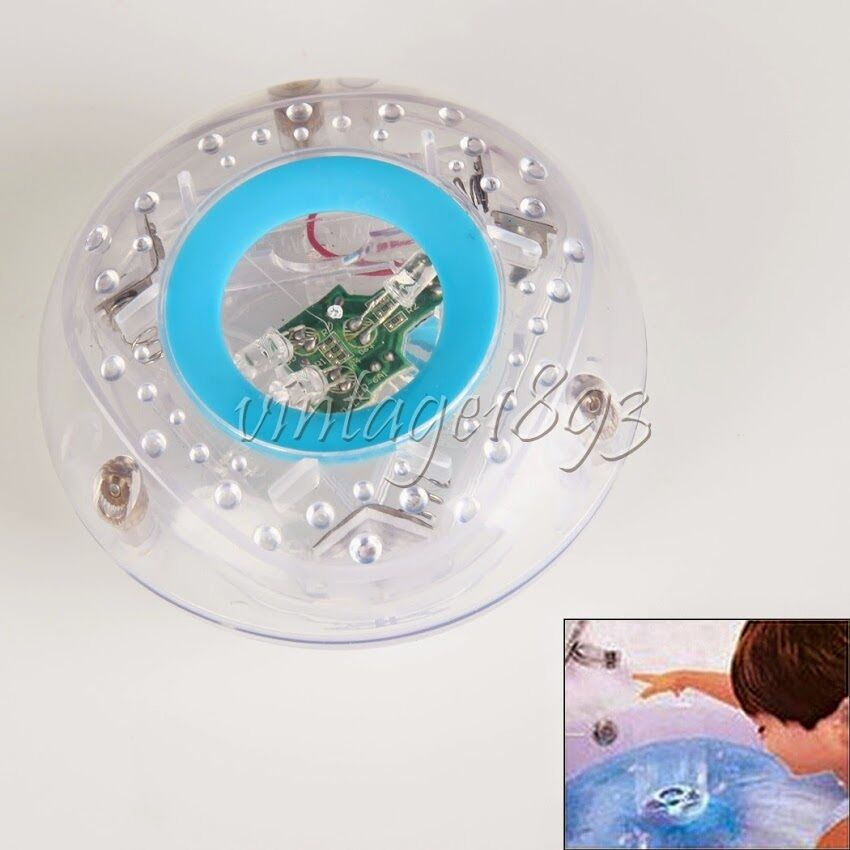 bath room tub waterproof led light kids toy baby bathing game gift interesting ebay. Black Bedroom Furniture Sets. Home Design Ideas