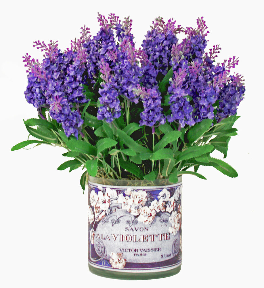 Flower Arrangements Provence Lavender Bouquet Silk