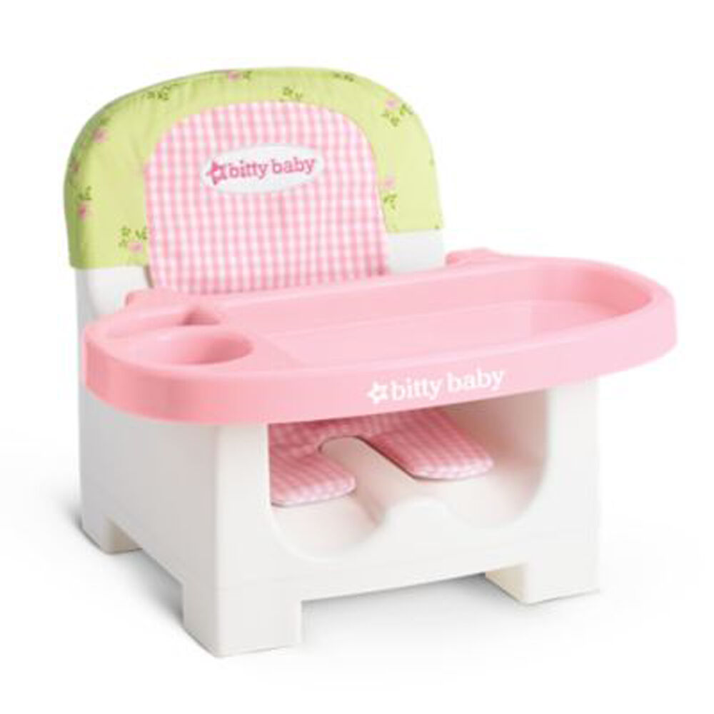 American Girl BITTY BABY FLORAL FEEDING CHAIR For 15
