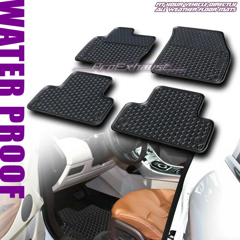 Sale All Weather Front Rear Floor Mats Carpet Fits 2012