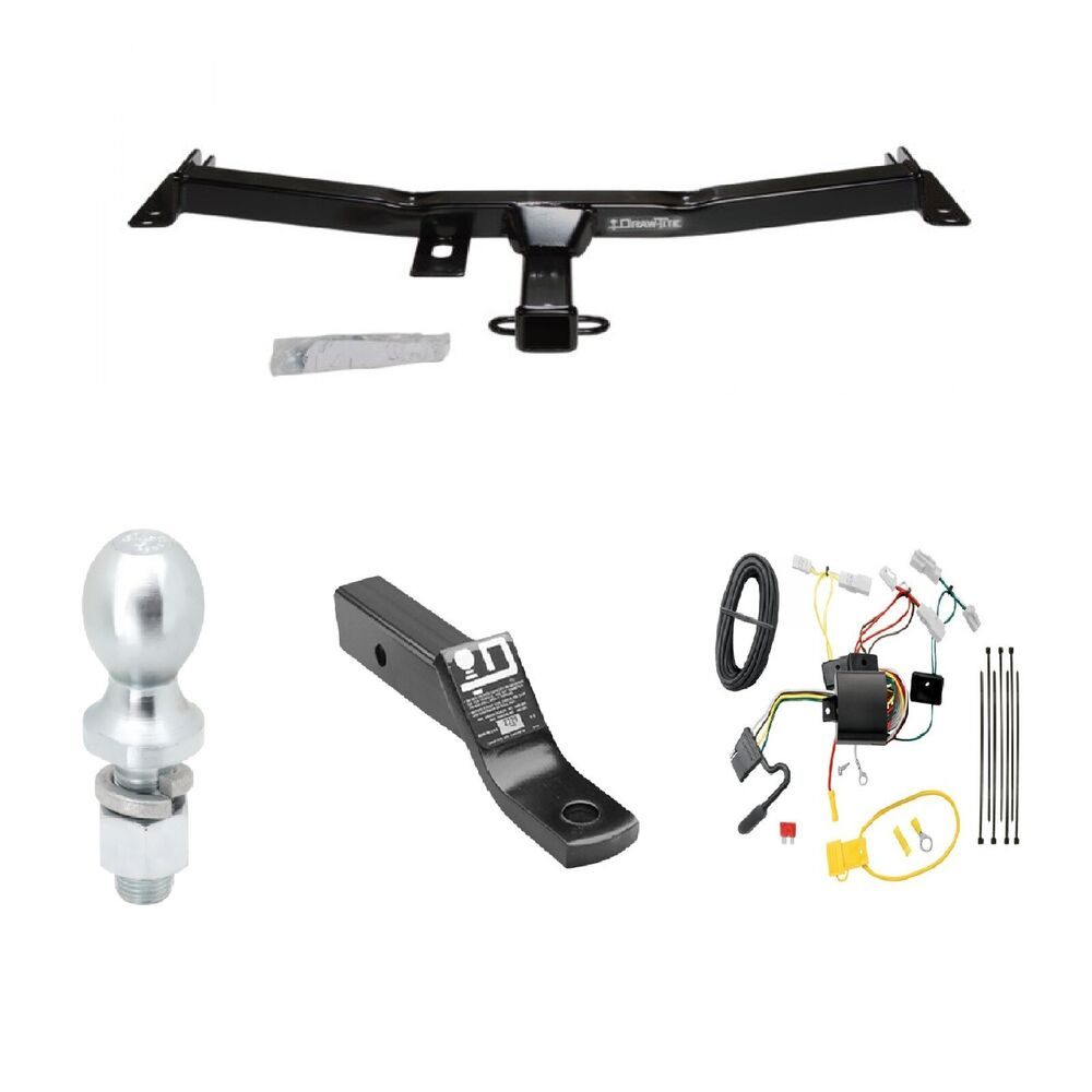 toyota tacoma wiring diagram for trailer class 3 trailer hitch tow kit w/2