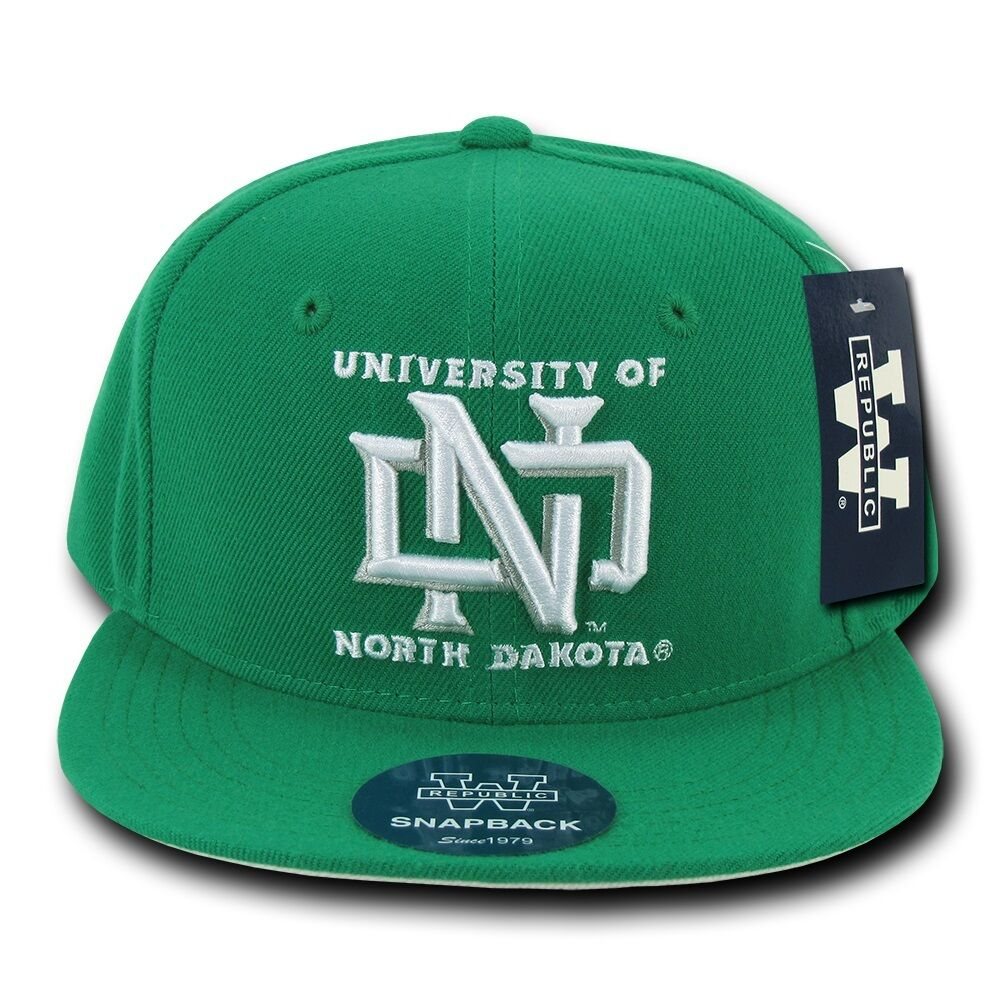 university of north dakota und sioux ncaa flat bill snapback baseball hat cap ebay. Black Bedroom Furniture Sets. Home Design Ideas