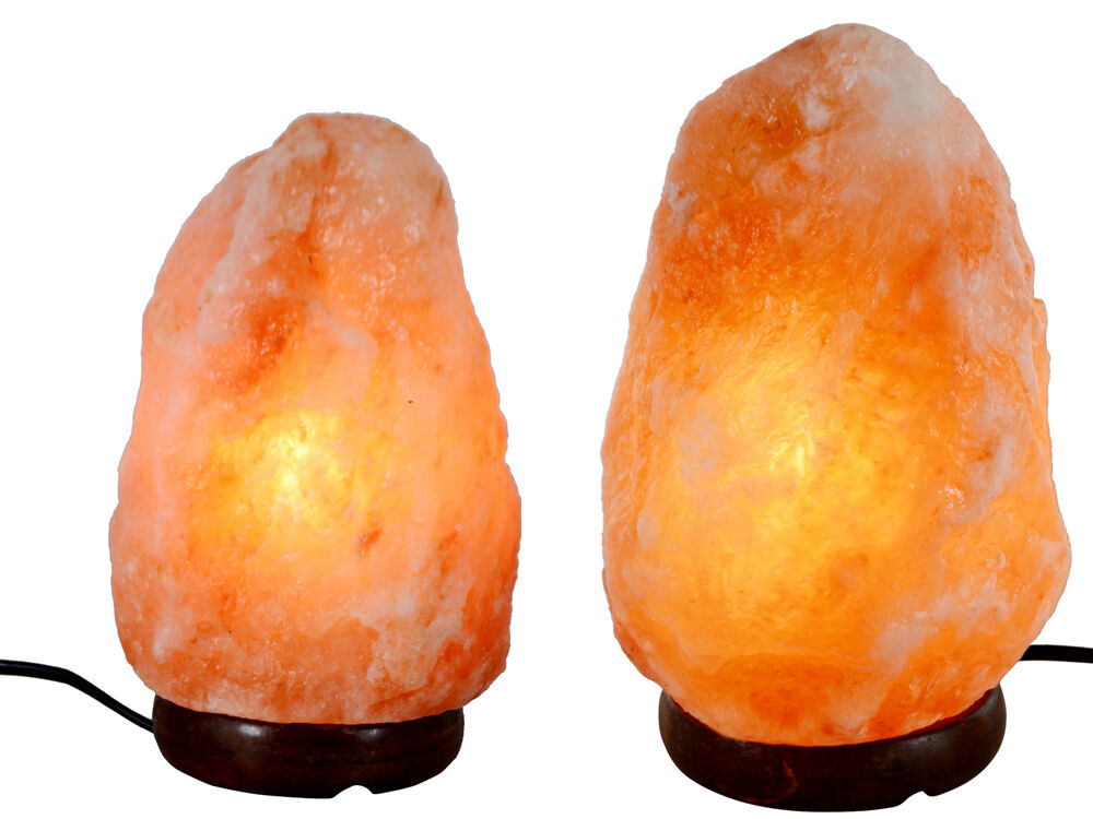 Himalayan Natural Ionic Crystal Salt Rock Light Lamp Air Purifier w/ Bulb Cord eBay