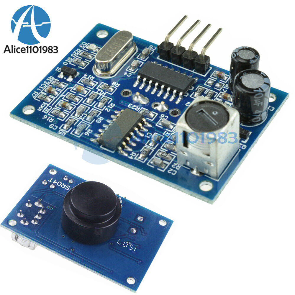 40khz waterproof ultrasonic sensor distance measuring module 3 5m ebay. Black Bedroom Furniture Sets. Home Design Ideas