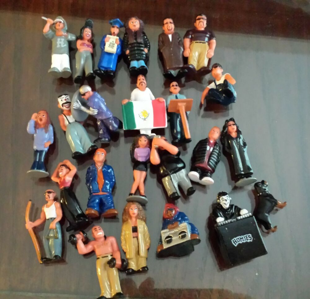 Homies Complete Set Series 5 of 24 Figures Fast Shipping ...
